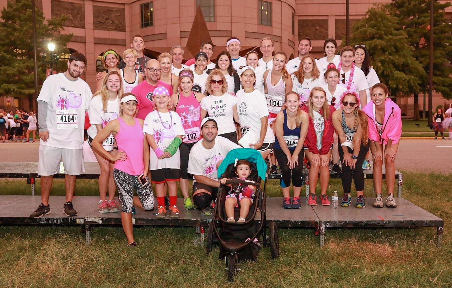 Dr. David Mosier with Race for the Cure